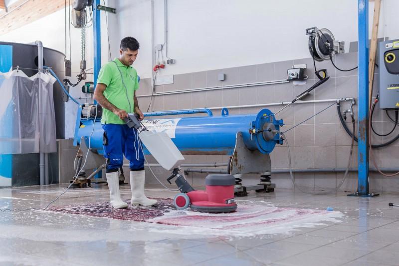 professionelle reinigung